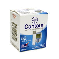 Bayer 500 Contour Test Strips (10 Boxes of 50)