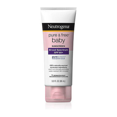 Neutrogena Pure and Free Baby Sunblock Lotion SPF 60