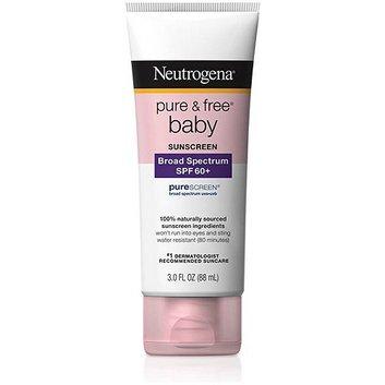 Neutrogena Pure and Free Baby Sunblock Lotion SPF 60