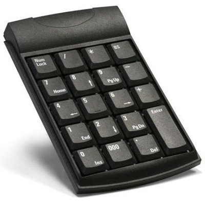Unitech - All Accessories Unitech K19 USB Keypad - USB - 19 Keys - Black