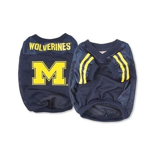 Sporty K9 Football Jersey - University of Michigan