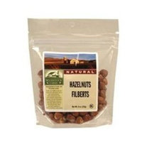 WODSTK Hazelnuts, Shelled, Raw, 8 oz (pack of 8 )