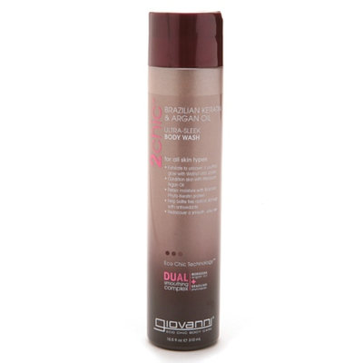 Giovanni 2chic Brazilian Keratin & Argan Oil Ultra-Sleek Body Wash