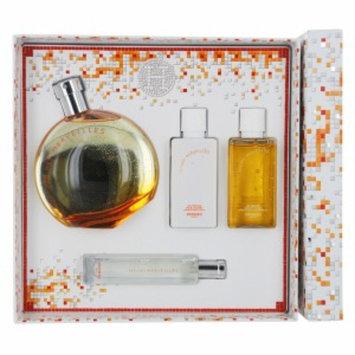 Hermes Eau De Merveilles Gift Set 4 Piece, 1 set