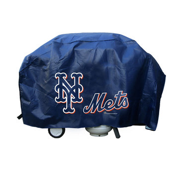 Caseys New York Mets MLB Grill Cover Deluxe