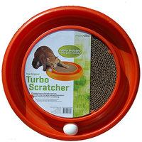 Bergan Morovilla Turbo Scratcher Interactive Cat Toy And Scratcher