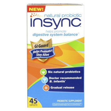 up & up Insync Natural Probiotic Caplets - 45 Count