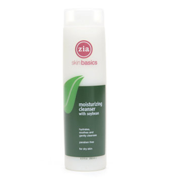 Zia Natural Skincare Moisturizing Cleanser with Soybean