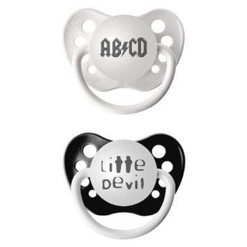 Ulubulu Black Paci ABCD/Lil Devil(2pk)