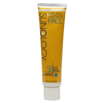 Sunology Natural Sunscreen Face Lotion SPF 50