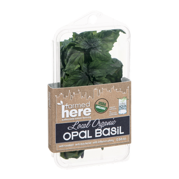 FarmedHere Local Organic Opal Basil
