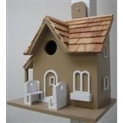 Home Bazaar Nestling Little Retreat Birdhouse Color: Blue