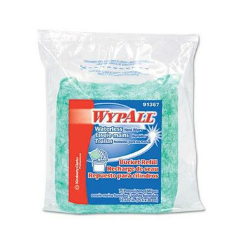 KIMBERLY CLARK Wypall Waterless Hand Wipes Refill Bags