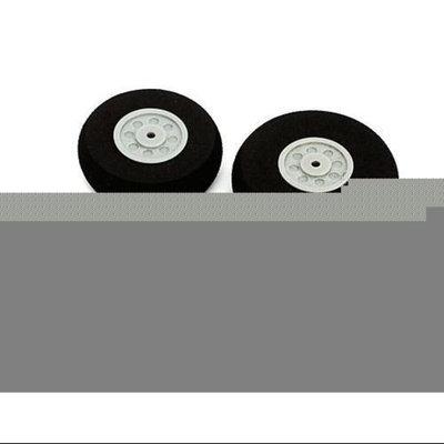 E-flite Wheel Set: Cessna 150 Aerobat 250 (2) 40mm,(1) 35mm