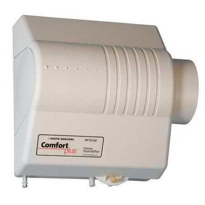 White Rodgers Bypass Flow Thru Humidifier with Humidistat 14 GPD