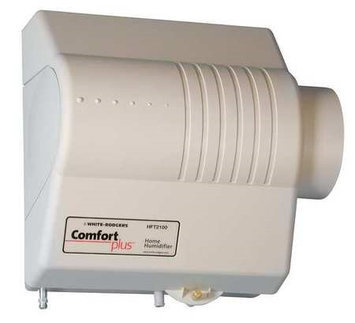 White Rodgers Bypass Flow Thru Humidifier with Humidistat 18 GPD