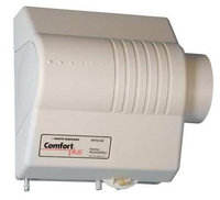 White Rodgers Fan Powered Flow Thru Humidifier with Humidistat 19 GPD