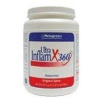 Metagenics UltraInflamX Plus 360 Supplement, Original Spice, 25.7 Ounce