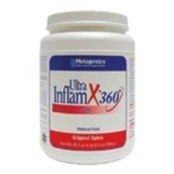 Metagenics UltraInflamX Plus 360 Supplement, Original Spice, 25.7 Ounce