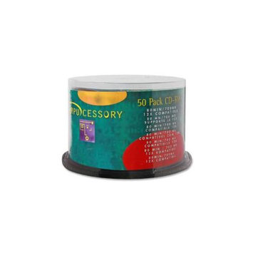 Compucessory COMPUCESSORY CD-RW, Branded Surface,700MB/80 Minute Cap,12X Speed,50/PK