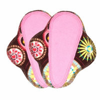 Lunapads Washable Cloth Menstrual Pads, Thong Pantyliner, 2 ea