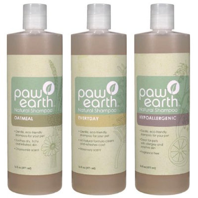 Petedge EA100 91 06 Paw Earth Natural Shampoo Gal Oatmeal