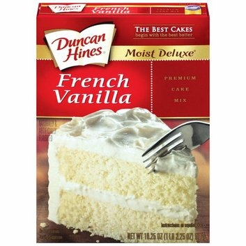Duncan Hines Moist Deluxe French Vanilla Cake Mix