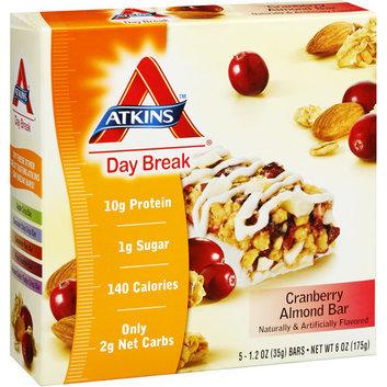 Atkins Day Break Cranberry Almond Bar