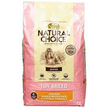 Natural Choice Dog NATURAL CHOICE Toy Breed Senior Chicken, Whole Brown Rice and Oatmeal Formula - 4 lbs. (1.81 kg)