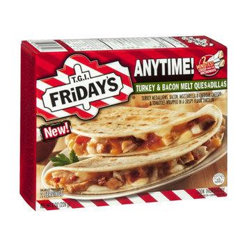 T.G.I. Friday's Anytime! Quesadillas Turkey Bacon Melt  - 2 CT