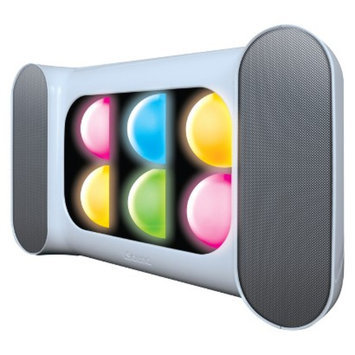 DreamGear i.Sound iGlow Sound Speaker System - White (ISOUND-5252)