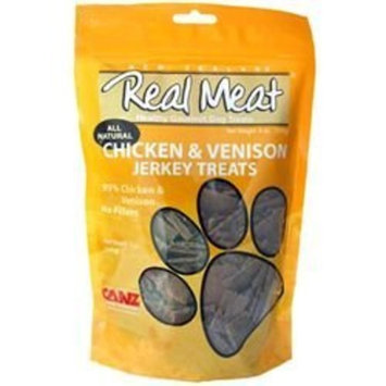 RealMeat Canz Real Meat Chicken & Venison Jerky Dog Treats