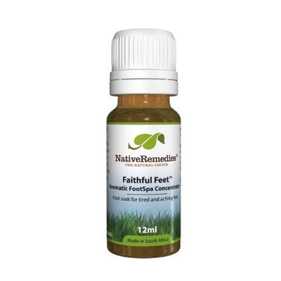 Native Remedies Faithful Feet Aromatic FootSpa Concentrate to Relieve Tired Swollen feet, 12ml