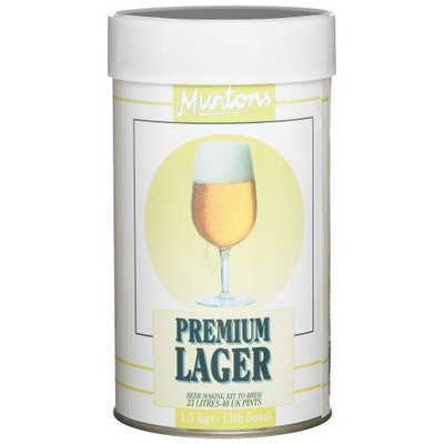 Muntons Premium Lager Beer Making Kit, 53-Ounce Can