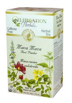 Celebration Herbals Organic Maca Maca Root Powder Tea Caffeine Free 40 g