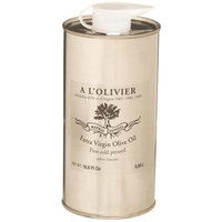 A L'Olivier Refill Tin Extra Virgin Olive Oil, 16.7-Ounce Tins