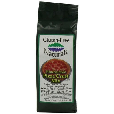 Gluten-Free Naturals Pizzeria-style Pizza Crust Mix, 9.6-Ounce Bags (Pack of 6)