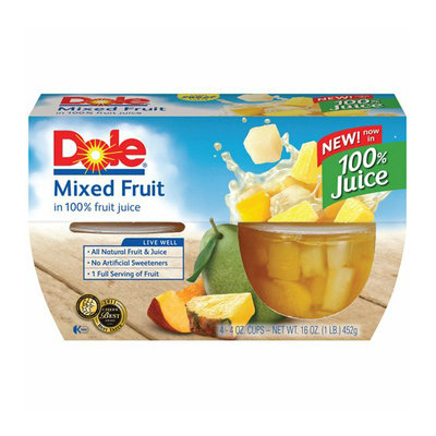Dole Mixed Fruit In Light Syrup