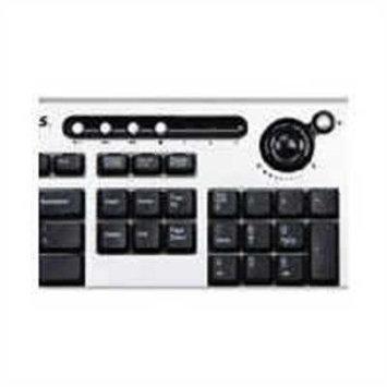 Fellowes USB Multimedia Slimline Keyboard w/ Microbial Protection