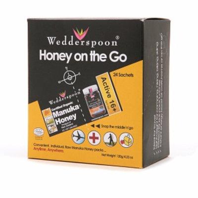 Wedderspoon Honey on the Go Sachets