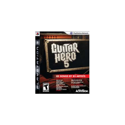 Activision Guitar Hero 5 - Game Only