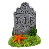 Top FinA RIP Halloween Aquarium Ornament