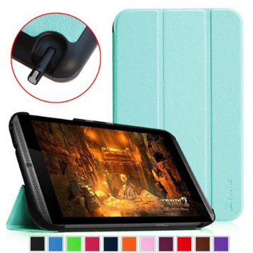 NVIDIA Shield Tablet Cover - Fintie SmartShell Ultra Slim Lightweight Stand Case (Auto Wake/Sleep), Blue