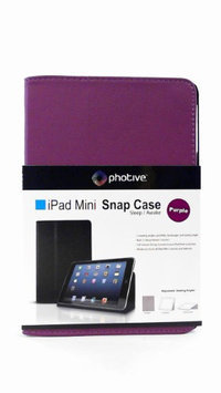 iPad Mini Smart cover Folio Snap Case By Photive with Built in Stand & Fully Functional Sleep & Wake Feature. Specifically Designed for Apple's iPad Mini - Purple
