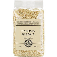 India Tree Paloma Blanca (White) PopCorn, 16 oz (Pack of 4)
