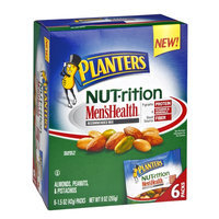 Planters Nut-rition Men's Health Almonds, Peanuts & Pistachios Mix - 6 CT