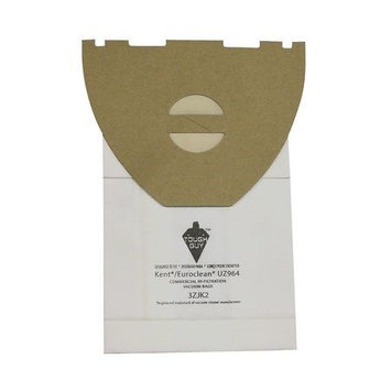 TOUGH GUY 3ZJK2 Filter Bag,2-Ply, Paper, PK10