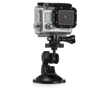 The Package Group Llc Suction Mount Device Bracket - Go Pro GoPro Hero Hero3 Hero4
