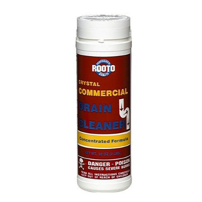 Rooto 1033 Commercial Drain Cleaner (12 Pack)
