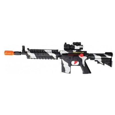 airsoftrc Friction M4 Machine Gun Black Camo Toy Gun